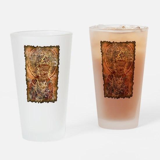 Vintage Bodhisattva Pint Glass
