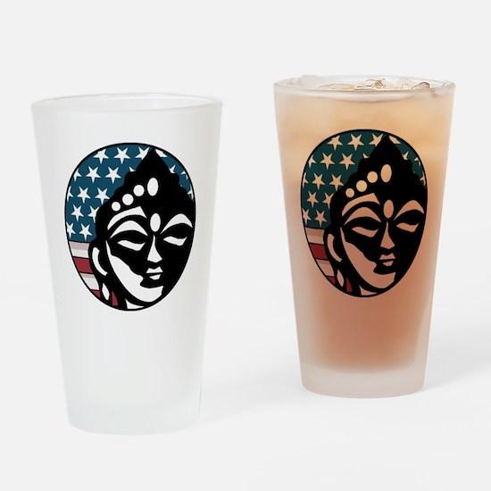 American Buddhist Pint Glass