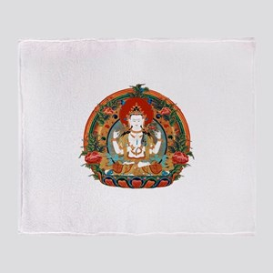 Kuan Yin Throw Blanket