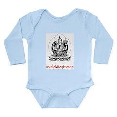 Avalokiteshvara Long Sleeve Infant Bodysuit
