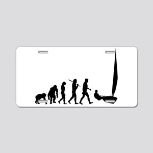 Sailing Evolution Aluminum License Plate