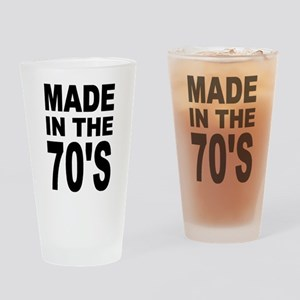 'Made in the 70's' Pint Glass
