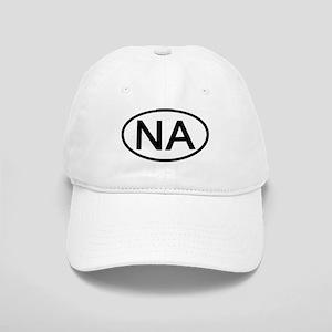 NA - Initial Oval Cap