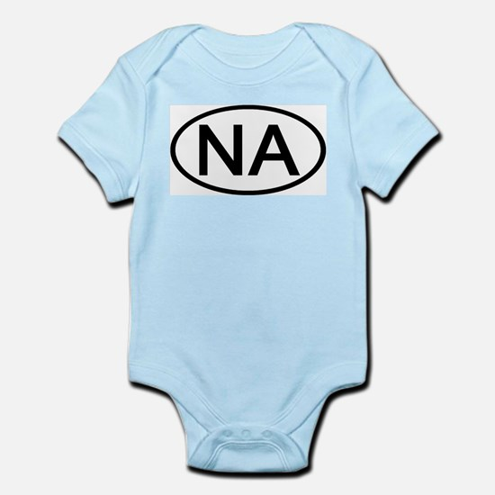 NA - Initial Oval Infant Creeper