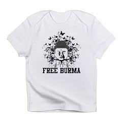 Buddha Free Burma Infant T-Shirt