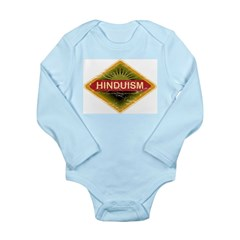 Vintage Hinduism Long Sleeve Infant Bodysuit
