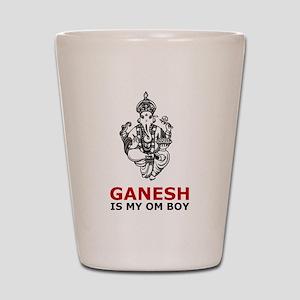 Hinduism Ganesh Is My Om Boy Shot Glass