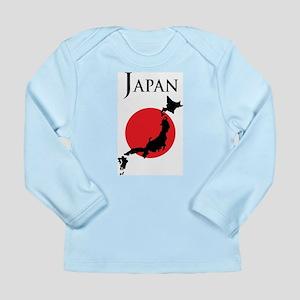 Map Of Japan Long Sleeve Infant T-Shirt