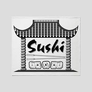 Sushi Throw Blanket