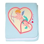 Cupid Love baby blanket