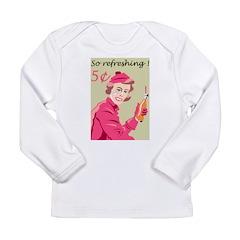 Retro Soda Long Sleeve Infant T-Shirt