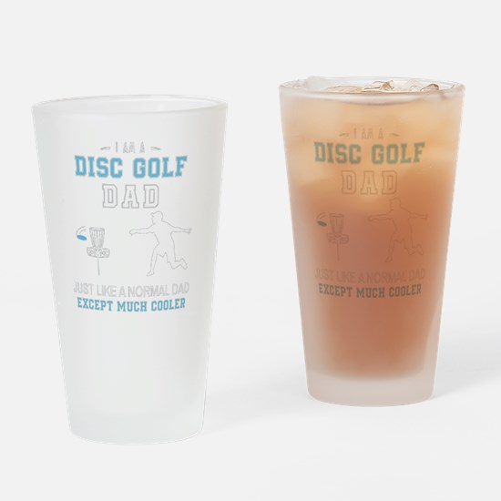 Cute Disc golf Drinking Glass