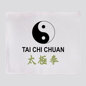 Tai Chi Throw Blanket