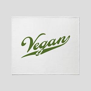 Retro Vegan Throw Blanket