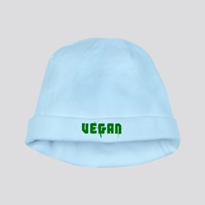 Vintage Vegan baby hat
