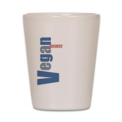 Vegan Power Shot Glass
