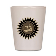 Yoga Om Shot Glass