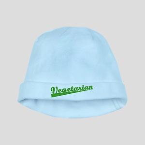Retro Vegetarian baby hat
