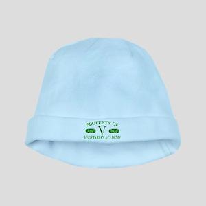 Vegetarian Academy baby hat