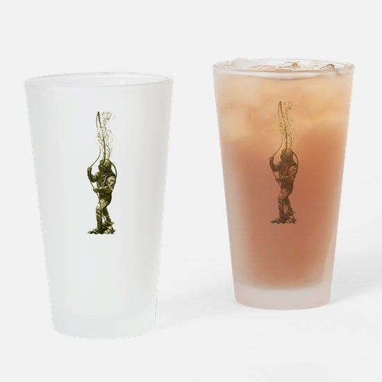 On The Bottom Pint Glass