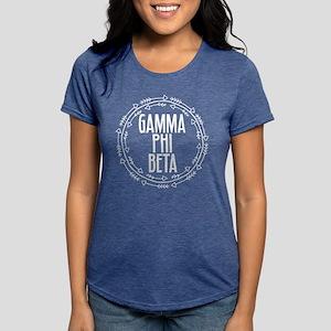 Gamma Phi Beta Arrows Womens Tri-blend T-Shirt