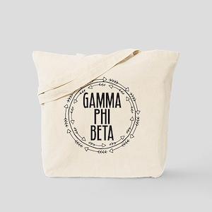 Gamma Phi Beta Arrows Tote Bag