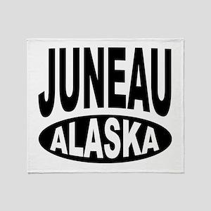 Juneau Alaska Throw Blanket