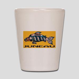 Alaska Juneau Shot Glass
