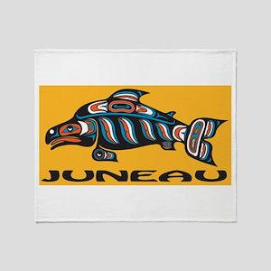 Alaska Juneau Throw Blanket
