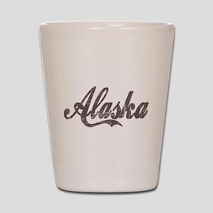 Vintage Alaska Shot Glass
