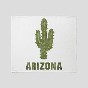 Vintage Arizona Throw Blanket