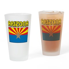 Arizona Flag Pint Glass