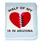 Heart In Arizona baby blanket