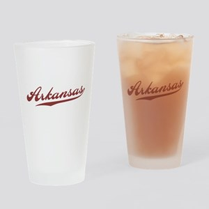 Retro Arkansas Pint Glass