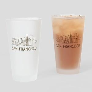 Vintage San Francisco Pint Glass