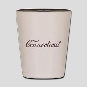 Vintage Connecticut Shot Glass