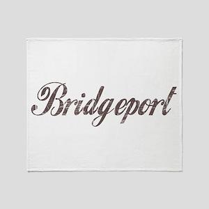 Vintage Bridgeport Throw Blanket