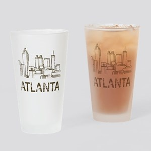 Vintage Atlanta Pint Glass