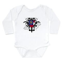 Stylish Georgia Long Sleeve Infant Bodysuit