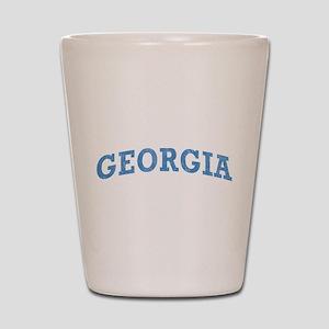 Vintage Georgia Shot Glass