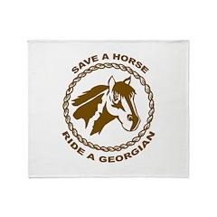 Georgian Throw Blanket