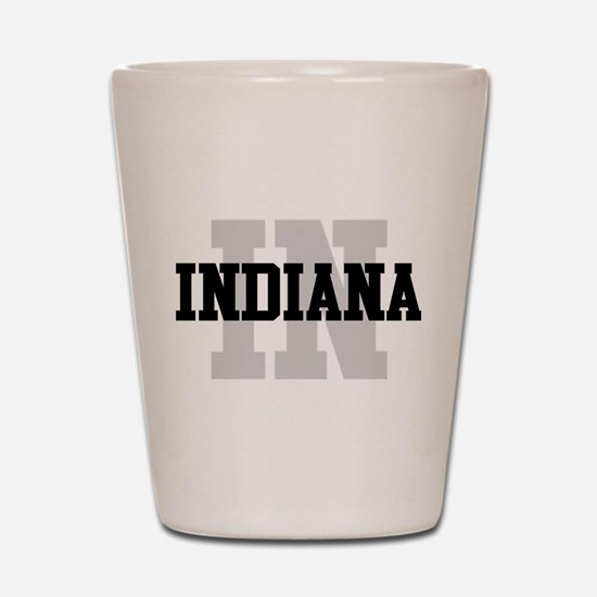IN Indiana Shot Glass