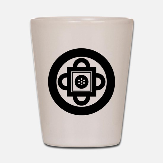 Shambhala Symbol Shot Glass
