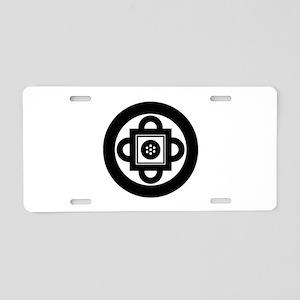 Shambhala Symbol Aluminum License Plate