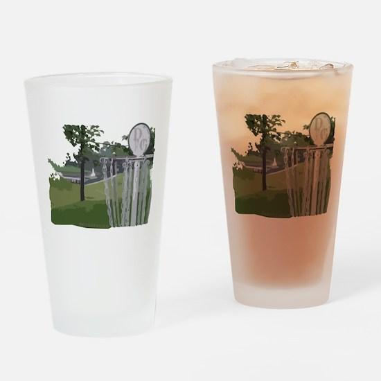 Disc Golf Pint Glass
