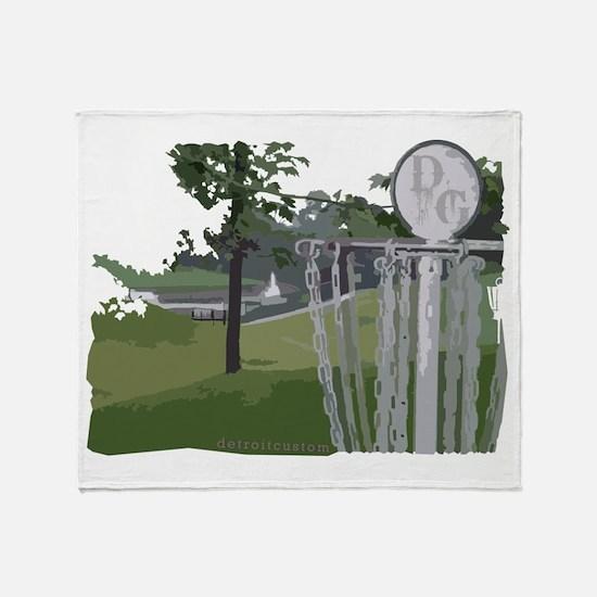 Disc Golf Throw Blanket