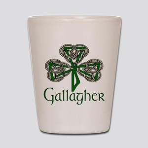 Gallagher Shamrock Shot Glass