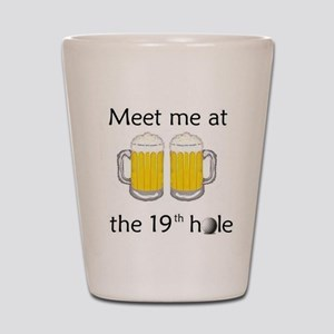 19th Hole Shot Glass