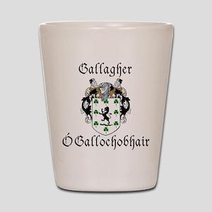 Gallagher In Irish & English Shot Glass