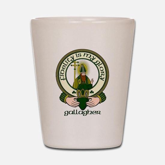 Gallagher Clan Motto Shot Glass